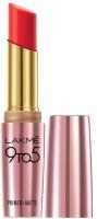 Lakme 9 to 5 Primer Plus Matte Lip Color(Red Coat, 3.6 g)