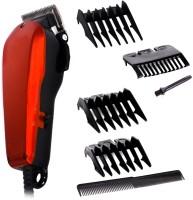 JMALL Corded Hair Clipper Trimmer - Nava NV 1400 A  Runtime: 200 min Trimmer for Men & Women(Red)