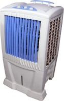 View texon COOLEST TOWER 85 LTR Desert Air Cooler(White, Blue, 85 Litres)  Price Online