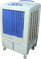 View texon COOLEST TOWER 55 LTR Tower Air Cooler(White, Blue, 55 Litres)  Price Online