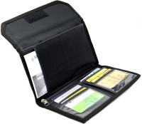 ME&YOU Business Document Organizer for Cheque Book(Black)