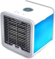 View INFINITY ENTERPRISE Humidifier Purifier Mini Cooler Personal Air Cooler (WITHE, 0.75 Litres) Personal Air Cooler(White, 0.75 Litres)  Price Online