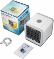 View JOFIX Mini Air Cooler Fan Personal Space Cooler A Quick And Easy Way To Cool Personal Air Cooler(Multicolor, 1 Litres)  Price Online
