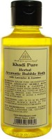 Khadi Pure Herbal Aromatic Bubble Bath with Lavender & Jasmine(PACK OF 1)(210 ml)