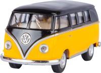 Miss & Chief Kinsmart Licensed 5'' 1962 Volkswagen Classical Bus Die Cast Model(Yellow)