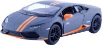 Miss & Chief Kinsmart Licensed 5'' Lamborghini Huracn LP610-4 Avio Matte Die Cast Car(Blue)