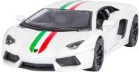 Miss & Chief Kinsmart Licensed 5'' Lamborghini Aventador LP 700-4 Die Cast Car(White)