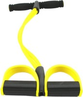Autorepute Pull Reducer Body Shaper & Trimmer AB CRUNCHER Fitness Rubber Stretcher Ab Exerciser(Yellow)