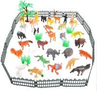 Miss & Chief Wild Kingdom with Cage(Multicolor)