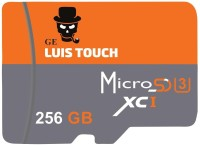 GE LUIS TOUCH Ultra 256 GB SD Card UHS Class 3 30 MB/s  Memory Card
