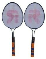 VSM RAJSON DOUBLE RECQUET 1SET Multicolor Strung Tennis Racquet(Pack of: 2, 350 g)