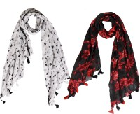Ziva Fashion Printed Polycotton Women Scarf