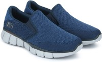 Skechers EQUALIZER 2.0 Walking Shoes For Men(Blue)