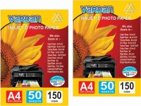 Vardan pack of 2pkt unruled A4 150 gsm Printer Paper(Set of 2, White)