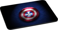 ANNI69 captain America Shield Mousepad(Multicolor)