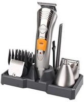 sourceindiastore 7 IN 1 RECHARGEABLE GROMING KIT Cordless Grooming Kit for Men (Silver)  Shaver For Men, Women(Silver)