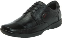 Red Chief Black Corporate Casuals For Men(Black)