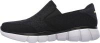 Skechers EQUALIZER 2.0 Walking Shoes For Men(Black, Grey)