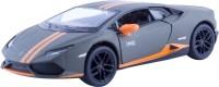 Miss & Chief Kinsmart Licensed 5'' Lamborghini Huracn LP610-4 Avio Matte Die Cast Car(Grey)
