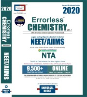 ERRORLESS CHEMISTRY NEET/AIIMS - 2020 by Universal Books (Set of 2 Volume), NTA(English, Paperback, Universal Books)