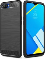 Flipkart SmartBuy Back Cover for Realme C2(Black, Flexible)
