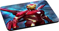 ANNI69 Back Full Of Armour Iron Man Mousepad(Multicolor)