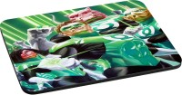 ANNI69 Green Lanten Full team Mousepad(Multicolor)
