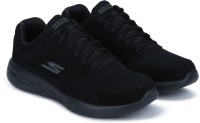 Skechers GO RUN 600-QUALIFIED Running Shoes For Men(Black)