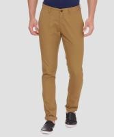 Van Heusen Sport Tapered Men Brown Trousers