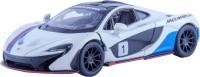 Miss & Chief Kinsmart Licensed 5'' McLaren P1 Die Cast Car(White)