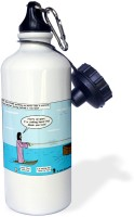 3dRose Jesus - Water Skiing 600 ml Bottle(Pack of 1, White)