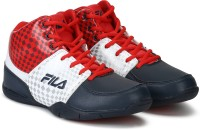 Fila REBOUND-4 Basketball Shoes For Men(Blue)