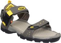 Sparx Sparx Men SS-502 Olive Yellow Floater Sandals Men Olive Sports Sandals