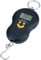 Air-ga Portable Electronic Scale Smiley Portable Handheld 50Kg Weighing Scale(Black)