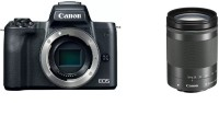 Canon M50 Mirrorless Camera Single Lens: EF-M18-150mm f/3.5-6.3 IS STM(Black)