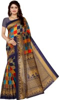 Vimalnath Synthetics Self Design Patola Art Silk Saree(Multicolor)