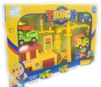FunBlast Little Engineer Pull Back Construction Truck Toy Set(Multicolor, Pack of: 1)