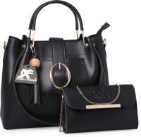 Speed X Fashion Women Black Messenger Bag