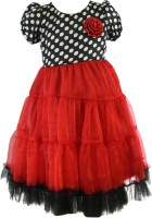 SSMITN Maxi/Full Length Party Dress(Red, Cap Sleeve)