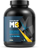 MuscleBlaze Raw Whey Protein(2 kg, Unflavored)