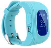 MECKWELL Q50 Baby Tracker smart watch Smartwatch(Blue Strap, Free Size)