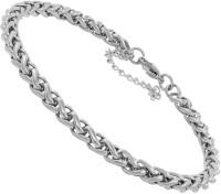 Divastri Stainless Steel Silver Bracelet
