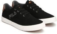 Fila MIRKO Canvas Shoes For Men(Black)