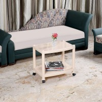 Cello Orchid Plastic Coffee Table,Marble Beige Plastic Coffee Table(Finish Color - Beige)
