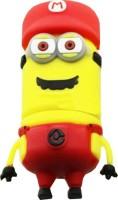 microware Red Cap New Shape Designer Fancy Pendrive 16 GB Pen Drive(Yellow)