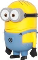 microware New Style Cartoon rush USB Flash Drives 16 GB Pen Drive(Yellow)