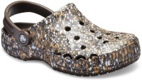 Crocs Baya Graphic Clogs For Men(Brown)