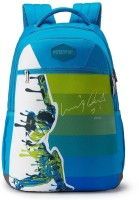 American Tourister PLAYER BACKPACK 01 - TEAL 28 L Backpack(Blue, Green, White)
