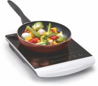 GLEN GL Induction Cooker 3074 Induction Cooktop(White, Touch Panel)