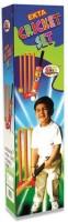 KIDLAND Senior Plastic cricket bat set with wickets and ball for kids Cricket Kit Cricket Kit